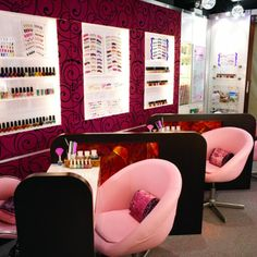 Interior Designs of Nail Shop | Jessies Beauty Recipe Blog Nail Salon Ideas | Nail nails shop