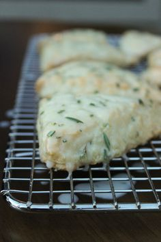 Pioneer Woman's Lemon Rosemary Scones will BLOW. YOU. AWAY. They are crumbly and moist all at the same time!