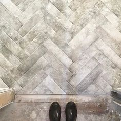 This chevron pattern install of our brick pavers is everything!! You can still get your tile orders in and contact any of our sales people 24/7 via the Live Chat feature on our website! Outdoor Tiles, Sales People, Brick Pavers, Apollo, Tile Floor, Chevron, Backyard, Outdoors, Homes