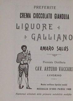 TOP LEGHORN: EMILIO SALGARI E IL LIQUORE GALLIANO