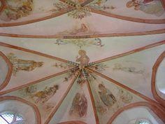 Gewelfschildering hervormde kerk, Loppersum