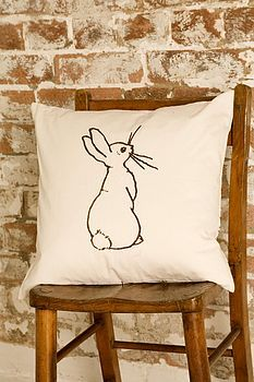 Boo Bunny Cushion