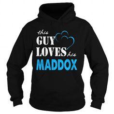 I Love TeeForMaddox  Guy Loves Maddox  Loves Maddox Name Shirt  Shirts & Tees
