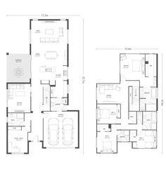 Flemington 40 plan | Ausbuild