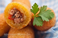 Chulitos (Cassava mini-rolls) - Dominican Cooking