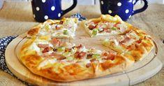 Tejfölös-szalonnás galette No Salt Recipes, Pizza Recipes, Cake Recipes, Gyro Pita, Lunch Meal Prep, Pizza Dough, Hawaiian Pizza, Street Food, Main Dishes