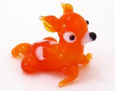 Mini Glass Bembi Animals Little Figurine Gift