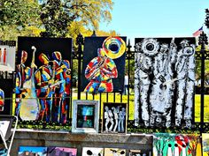 Jackson Square, New Orleans Colorful Art is Very Common Spring Time, Many Tourist in Town… People who own a French Quarter […] Down In New Orleans, New Orleans French Quarter, Jackson Square, Spring Time, The Neighbourhood, Square Art, Condos, Painting, Colorful
