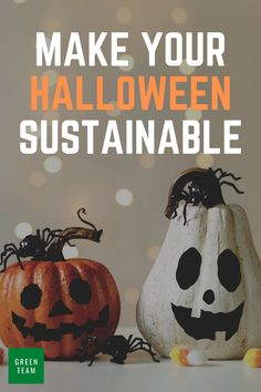 Sustainable costumes, treats, and decorations! Scare your friends, not the planet. Your guide on how to have a spookily sustainable halloween. Halloween Costume Props, Halloween Party Games, Halloween Decorations, Easy Fall Crafts, Fall Diy, Green Costumes, Parties Food, Upcycled Crafts, Stay Healthy