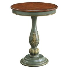 Love this color of blue!!! I pinned this Vidalia Accent Table from the Feminine Chic event at Joss and Main!