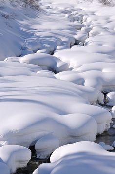 Beautiful Nature ~ A Marshmallow World! I Love Snow, I Love Winter, Winter Snow, Winter Time, Snow Scenes, Winter Scenes, Tornados, Travel Around The World, Around The Worlds