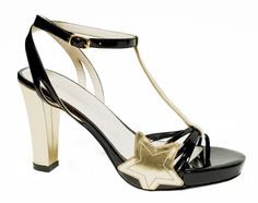 Modèle BERLYNE sandale étoile - Camille Daurel design pour MELLOW YELLOW  été 2007