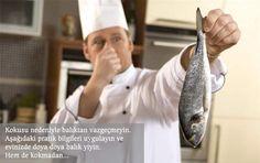 Balık kokusu nasıl çıkar? Pişirirken veya sonrasında uygulayacağınız birkaç püf nokta ile evdeki balık kokusu nasıl gider diye endişe etmenize gerek kalmayacak.