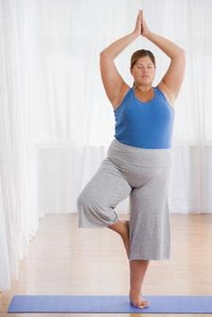 Plus size friendly yoga by Rochelle Rice-http://rochellerice.com/2011/04/plus-size-yoga/ Loved and Pinned by www.downdogboutique.com to our Yoga community boards