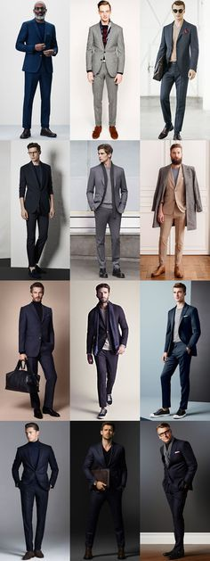 Men's 2015 Fashion Trend: Dressing Down The Suit: Removing The Collar Modern Lookbook Inspiration