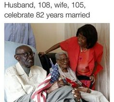 Black Love: Husband, 108, and wife, 105, celebrate 82 years married. Duranord and Jeanne Veillard were married in 1932. Together they have 5 children, 12 grandchildren and 14 great-grandchildren.