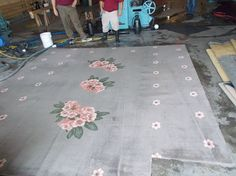 This last Friday we picked up carpet from the Senate Floor in Olympia. Can anyone tell us what flower that is? Here is a fun fact about the Capitol, the 25-foot-by-55-foot carpet in the State Reception Room was the largest single-loom carpet in the world when it was installed in 1928. It still looks good, despite 600 visitors a day and rain damage after the Nisqually quake. I wonder who has been cleaning their carpet for the last 75 years?