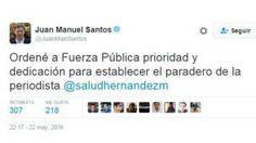Fuerzas militares de Colombia buscan a la periodista española Salud Hernández-Mora - BBC Mundo