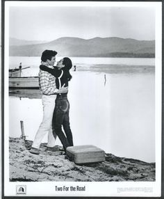 Albert Finney Audrey Hepburn Two for the Road 8x10 photograph 1967