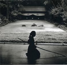 """""""In Kyudo philosophy, you don't aim--you become one with the target. Then, in fact, there's nothing to aim at."""