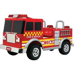 Kalee Fire Truck 12 Volt Ride On