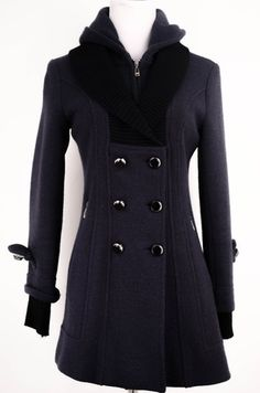 Navy Peacoat Size S by ClosetDash | ClosetDash