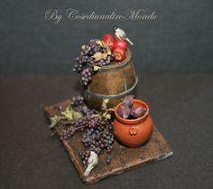 My Grapes !!! <3  Miniature handmade food scale 1/12