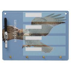 Hawk Bird Weekly Chores Dry Erase Board $31.95