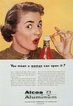 even a woman can open it!!! which is just as well, or there would be a lot of single women out there facing dinner without a condiment!! :p