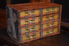 repurposed cigar boxes | Artful Panoply: Cigar Box Storage