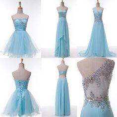 3 STYLES!Dress Prom Bridesmaid Bridal Ball Gowns Evening Party Cocktail Evening