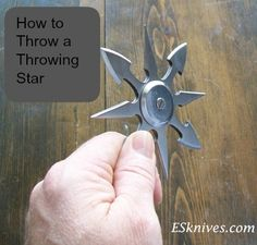Shurikens: How to throw a star like a ninja | throwing sharp stars is a real skill | Secretly you still want to be a ninja when you grow up...