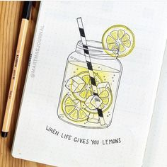 Image about food in Bullet Journal Inspiration by FailingIsNotWhatWeDo Bullet Journal Kawaii, Bullet Journal Cover Ideas, Bullet Journal Headers, Bullet Journal Quotes, Journal Fonts, Bullet Journal School, Bullet Journal Notebook, Bullet Journal Ideas Pages, Bullet Journal Layout