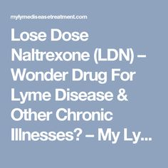 low dose naltrexone tips