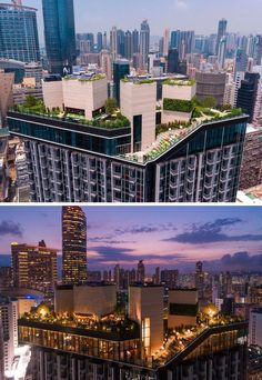 Hidden high above the busy streets of Mongkok, Hong Kong, is the recently completed Skypark, a rooftop residential clubhouse designed by architectural firm concrete.  ~ Great pin! For Oahu architectural design visit http://ownerbuiltdesign.com