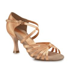 Capezio Tatiana Latin Dance Shoes BR196| Dancesport Fashion @ DanceShopper.com