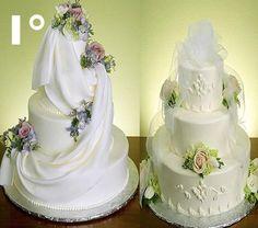 1° Weddin_-Cakes top 10 mais bonitos bolos de casamento