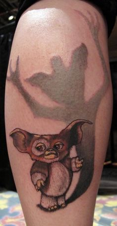 gremlins tattoo not something I would get but awesome none the less