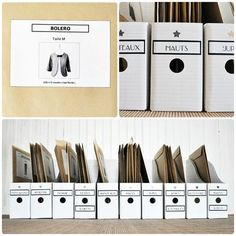 The website is in french, but this is a great idea to store patterns in Magazine folders. I'm going to have to try this out!