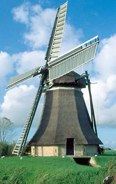 Polder mill Aylvapoldermolen, Burgwerd, The Netherlands