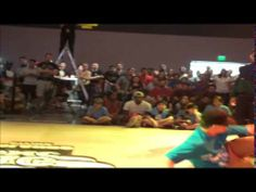 Kelly Tv at the BC One Red Bull B Boy Contest in Orlando Florida