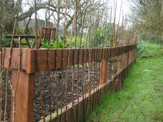 Lovely More Fence Ideas (keep The Chickens Out Of The Garden!)