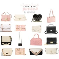 Ariana Grande Purses by ariinspired on Polyvore featuring J.Crew, Rebecca Minkoff, Jimmy Choo, Chanel, Forever 21, Boohoo, Moschino, RED Valentino, ASOS and Kate Spade
