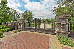 Driveway Entry gate..