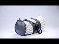 Comment coudre un sac de sport ? : tuto video  - Mondial Tissus