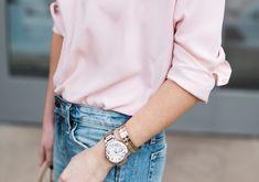 Ballon Bleu de Cartier 18K Yellow Gold & Stainless Steel Automatic Bracelet Watch | Krystal Schlegel