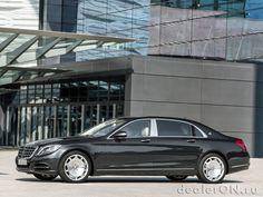 Седан Mercedes-Maybach S класса 2016 / Мерседес-Майбах S класса 2016 – вид сбоку