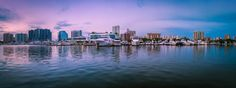 Panorama of the Sarasota Waterfront
