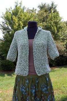 Free Knitting Pattern - Women's Pullovers: Soft Frog Hoodie