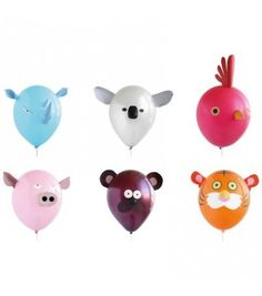 Ballons Animaux (x6)